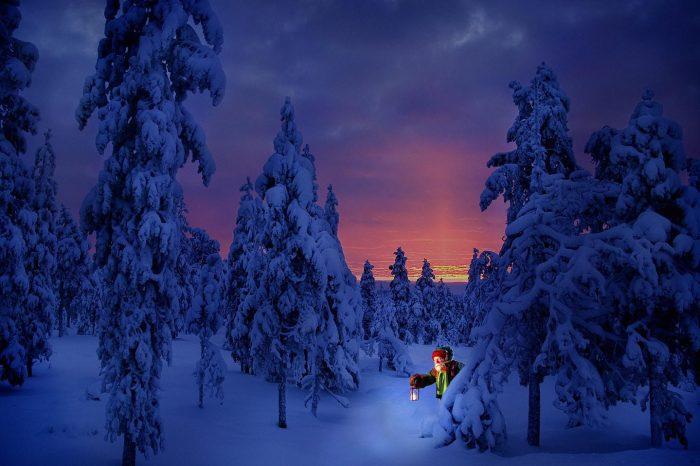 Viaje a Laponia en Navidad