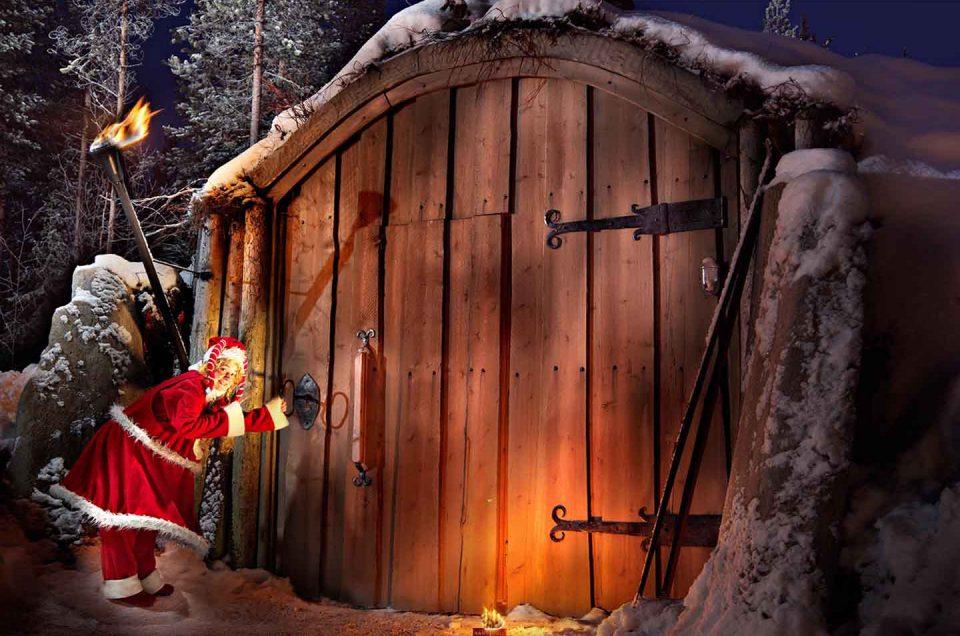 Visita a Papá Noel