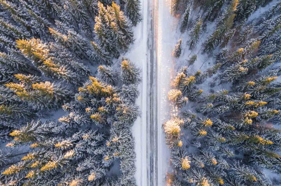 Camino nevado Desnowtrips