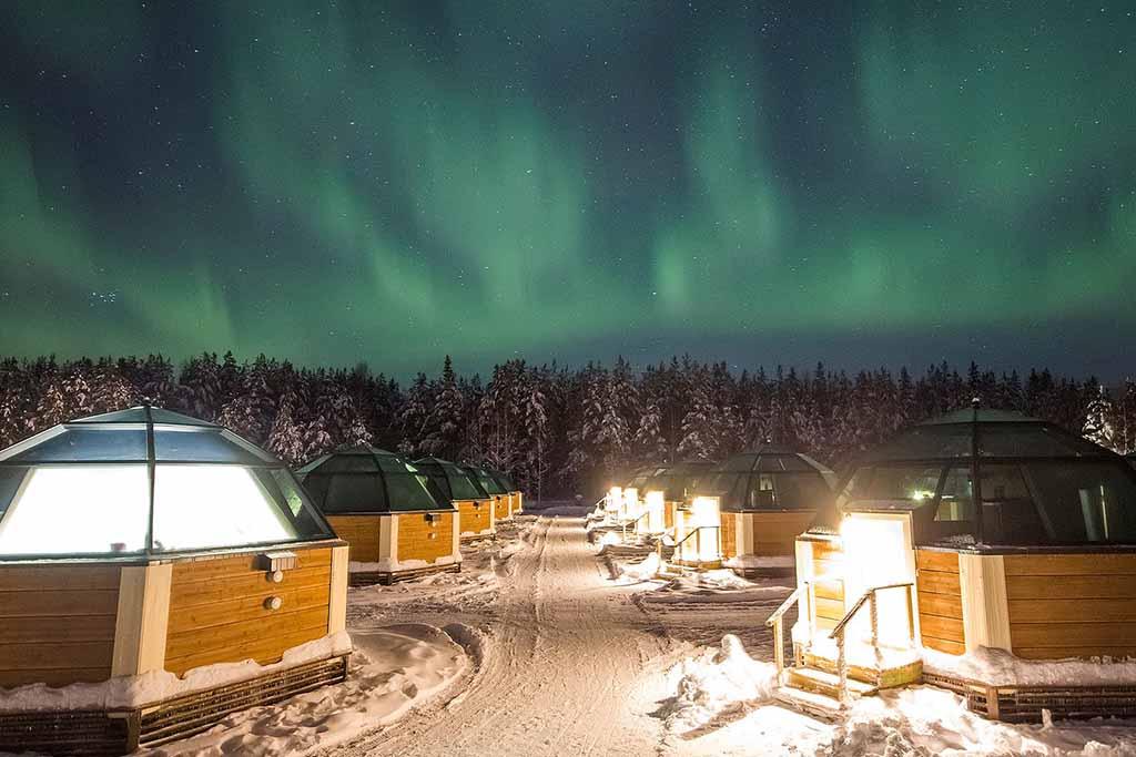 viaja a Laponia y observa las auroras boreales