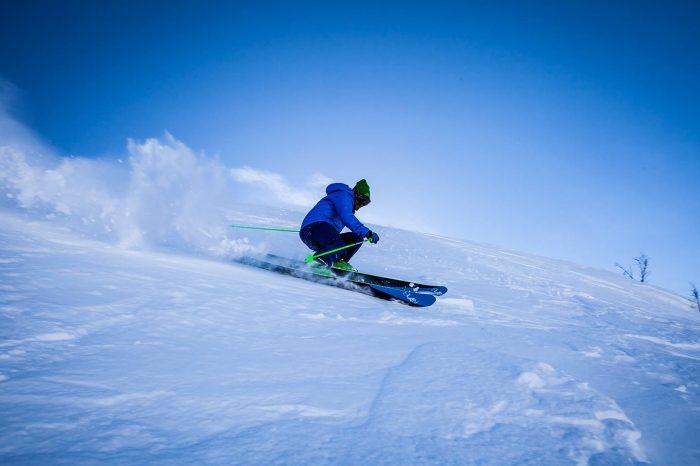 Practica esquí en Laponia