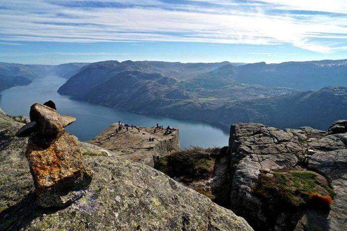 Recorrido en coche por el Sur de Noruega
