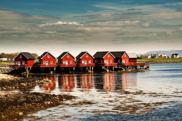 alojamiento en Noruega
