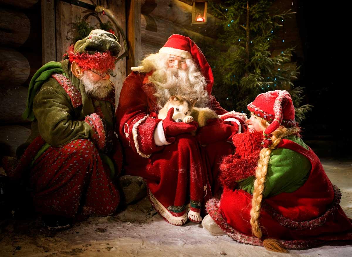 desnowtrips : Laponia en Navidad con Papá Noel