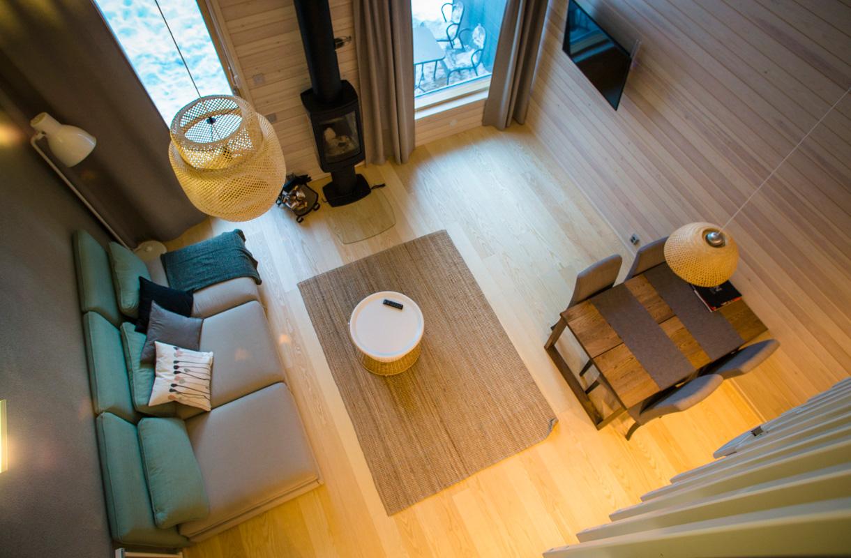 desnowtrips : Laponia alojamiento fin de año