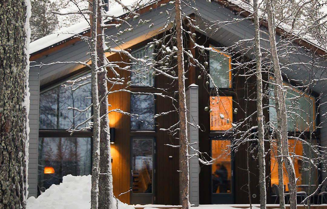 desnowtrips : Laponia alojamiento en fin de año