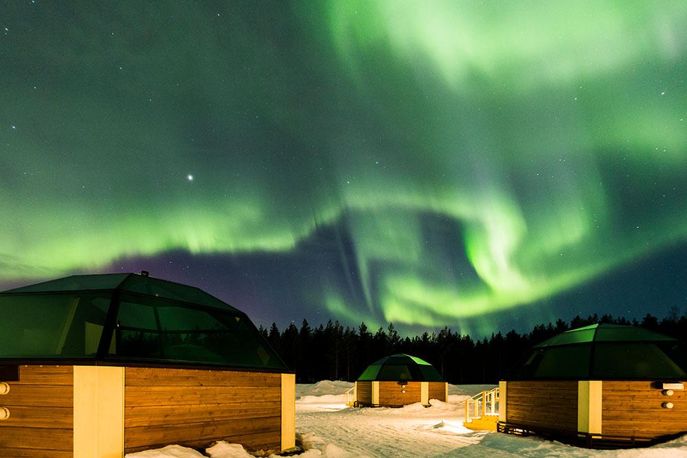desnowtrips : Laponia auroras boreales