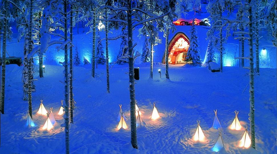 desnowtrips : Laponia fin de año