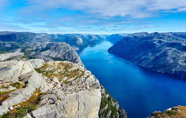viaje a fiordos noruegos